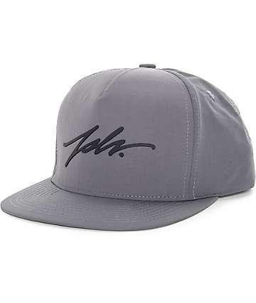 JSLV Signature Taslon Grey Snapback Hat