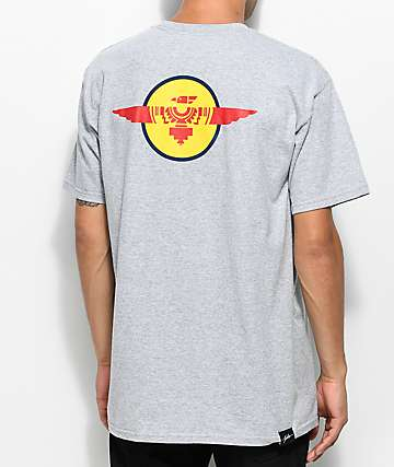 JSLV Spirit Select Grey Pocket T-Shirt