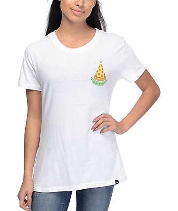 JV By Jac Vanek Merry Crustmas camiseta blanca