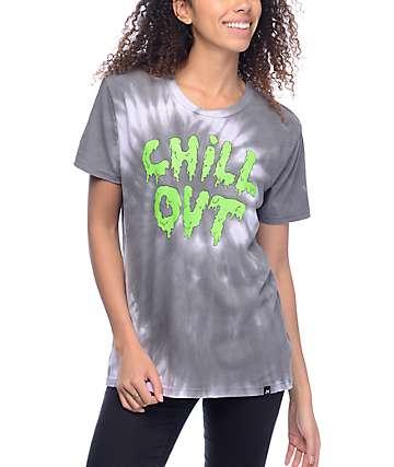 JV by Jac Vanek Chill Out camiseta con efecto tie dye