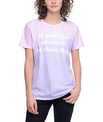 JV by Jac Vanek If You Love Someone Dip Dye T-Shirt