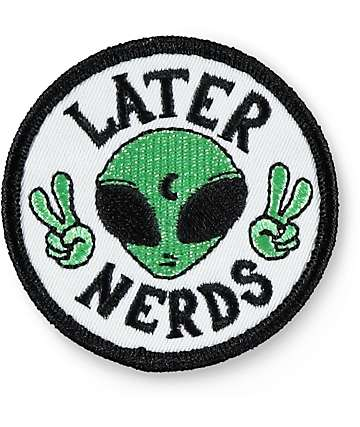 JV by Jac Vanek Later Nerds Patch