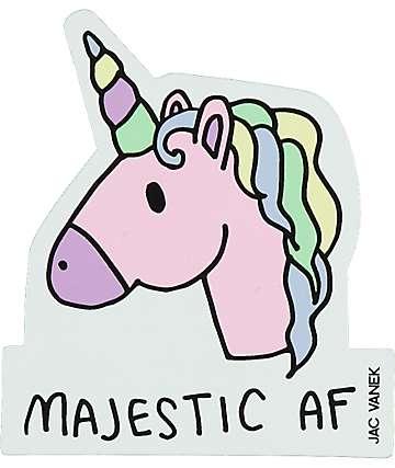JV by Jac Vanek Majestic AF Sticker