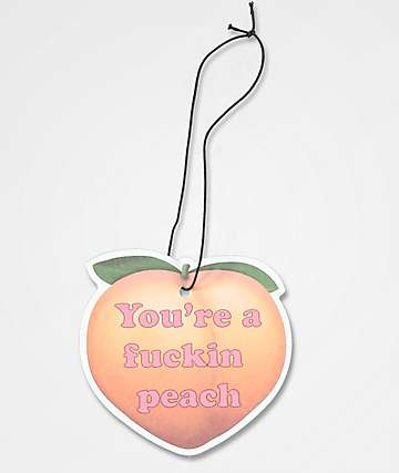 JV by Jac Vanek Peach Air Freshener