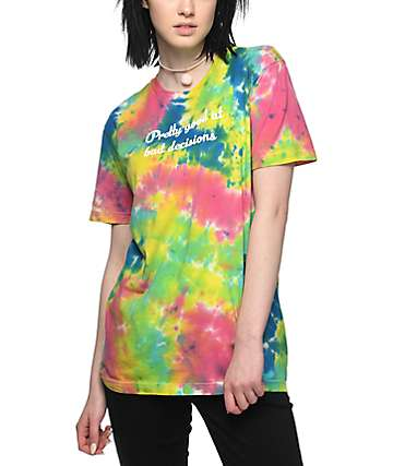 JV by Jac Vanek Pretty Good Tie Dye T-Shirt