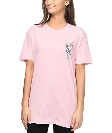 JV by Jac Vanek Thirsty camiseta rosa