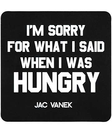 Jac Vanek Hungry Sticker