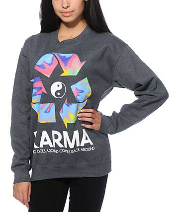 Jac Vanek Karma Crew Neck Sweatshirt