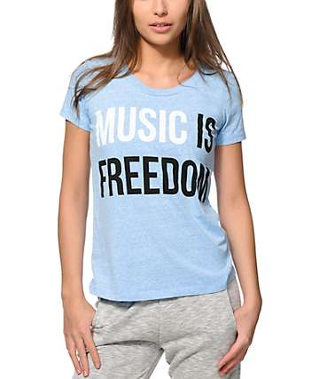 Jac Vanek Music Is Freedom T-Shirt