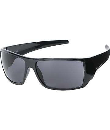 Jack Martin Argotron Matte Black & Grey Sunglasses
