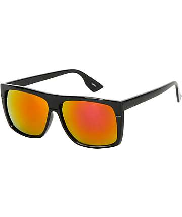 Jack Martin Cube Steak Black Sunglasses