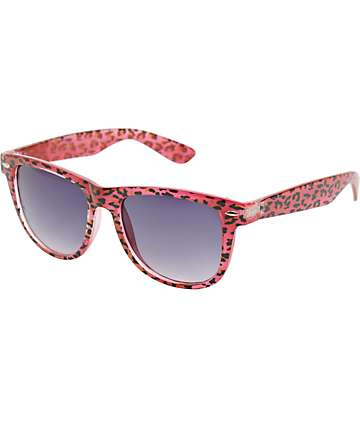 Jack Martin Frisky Business Animal Print Sunglasses