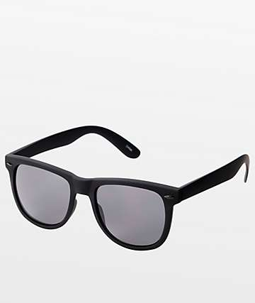 Jack Martin Frisky Business Matte Black Sunglasses