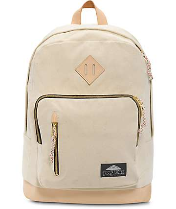 Jansport Axiom Destination Natural Canvas 31L Backpack
