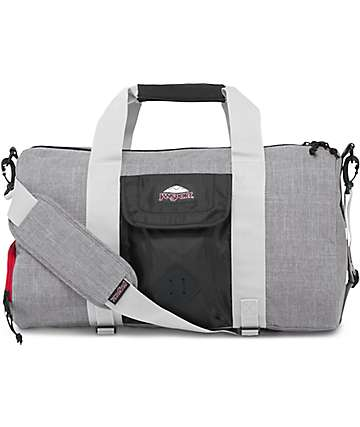 Jansport Duffel LD Black & Grey Marl 30L Duffle Bag