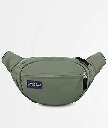 Jansport Fifth Avenue Muted Green Fanny Pack