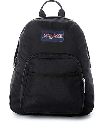 Jansport Half Pint mochila mini en negro