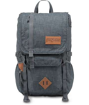 Jansport Hatchet Special Edition Grey Vanishing Ripstop 28L Backpack
