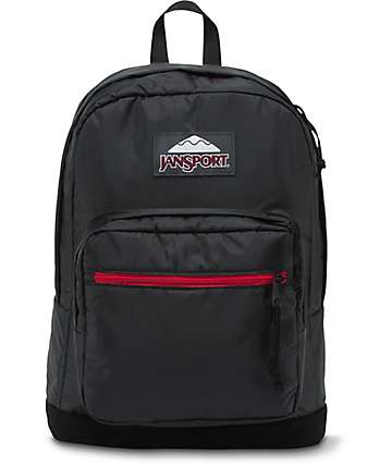 Jansport Right Pack Expressions Black Polyester Ripstop 31L Backpack
