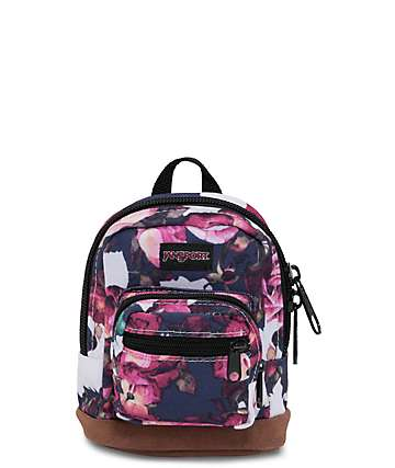 Jansport Right Pouch Floral Finesse .05L Mini Backpack