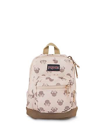 Jansport x Disney Right Pouch Luxe Minnie .05L mochila mini