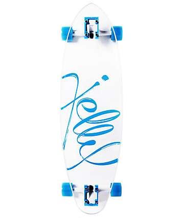 "Jelly Kingslayer 26"" Aqua cruiser completo de skate"