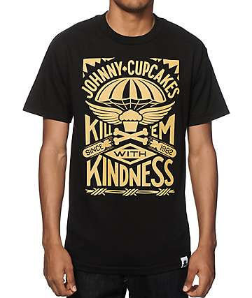 Johnny Cupcakes Kill Em With Kindness T-Shirt