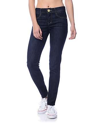 Jolt Techno Tuck Dark Blue Skinny Jeans