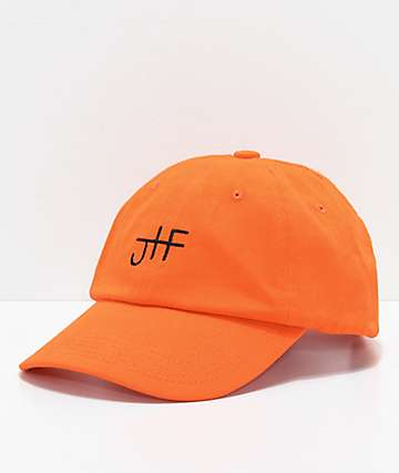 Just Have Fun Back To Basics Orange Strapback Hat