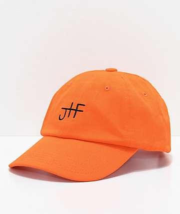 Just Have Fun Back To Basics Orange Strapback Hat