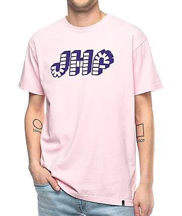 Just Have Fun Brick By Brick Pink T-Shirt