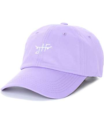 Just Have Fun Classic Skate Lavender Strapback Hat