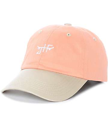 Just Have Fun Toned Out Peach Strapback Hat
