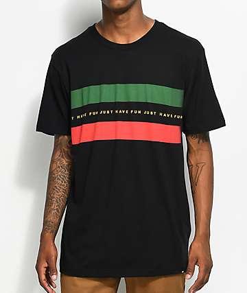 Just Have Fun What's Goochie Black T-Shirt