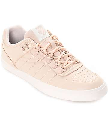 K-Swiss Gstaad Neu Sleek Cream & Tan Shoes