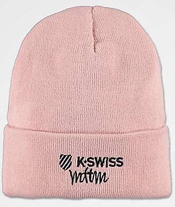 K-Swiss x MTTM Not Well gorro en rosa polvorienta