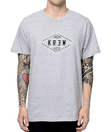 KR3W Certified Heather Grey T-Shirt