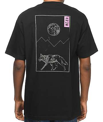 KR3W Coyote Black T-Shirt
