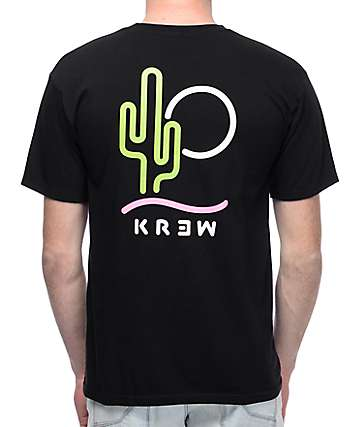 KR3W Desert Daze Black T-Shirt
