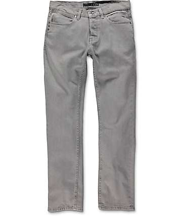 KR3W K Slim Smog City Grey Jeans