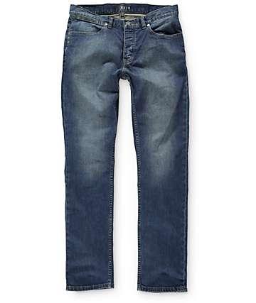KR3W K Slim Vintage Blue Slim Fit Jeans