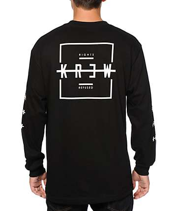 KR3W Krossblock Long Sleeve T-Shirt