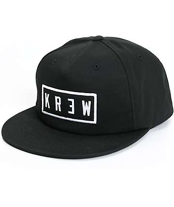 KR3W Locker Patch Snapback Hat