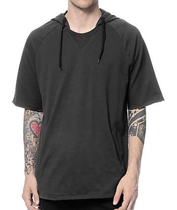 KR3W Marin Carbon Short Sleeve Pullover Sweatshirt