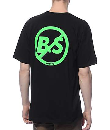 KR3W No B.S. Black T-Shirt