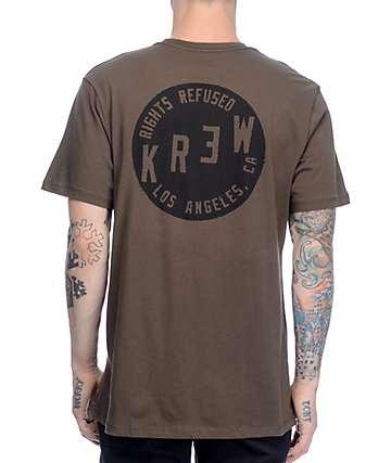 KR3W Slant Seal Olive T-Shirt