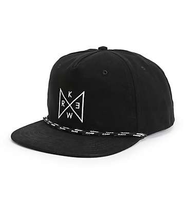 KR3W Triad Snapback Hat