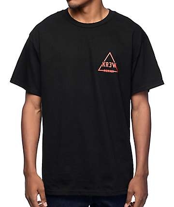 KR3W Trilock Black T-Shirt