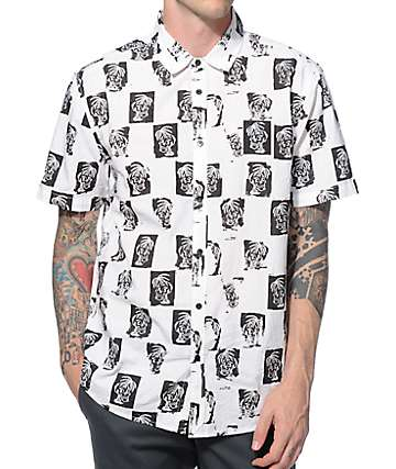 KR3W x Sketchy Tank Winston Button Up Shirt