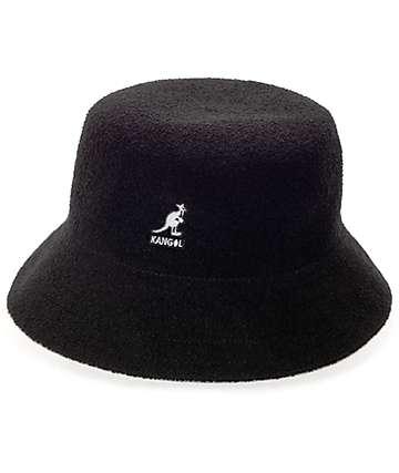 Kangol Bermuda Black Bucket Hat